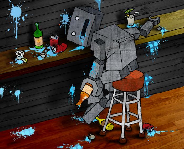 drunk robo