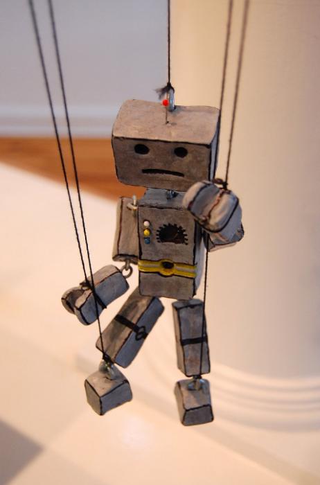 Mr. Robo Puppet