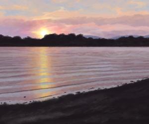 lake sunset thumb