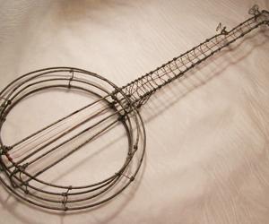 wire banjo thumb