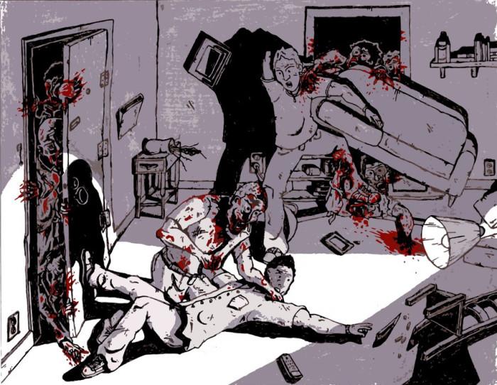 Corey and Josh vs Zombies